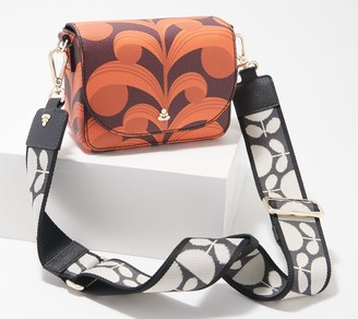 Orla Kiely Printed Pebble Grain Mini Crossbody - Vera
