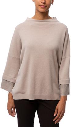 Tonet Wool, Silk & Cashmere-Blend Sweater