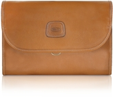 Bric's Life Pelle - Tri-fold Traveler Toiletry Case