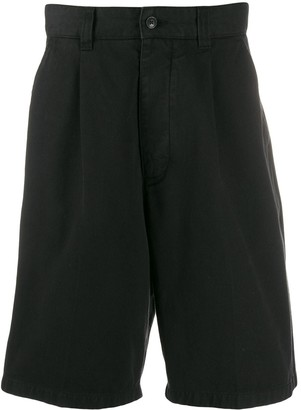 Ami Pleated Front Bermuda Shorts