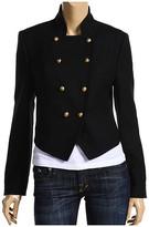 Cadet Wool Asymmetric Front Jacket