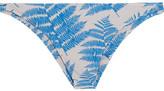 Mikoh Miyako Printed Bikini Briefs - Azure