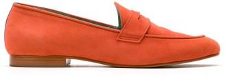 Blue Bird Shoes Boyish suede loafers