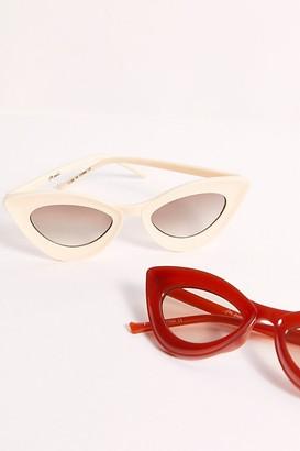 Free People Cavaretta Cat Eye Sunglasses