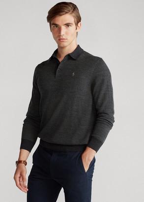 Ralph Lauren Merino Wool Polo Sweater
