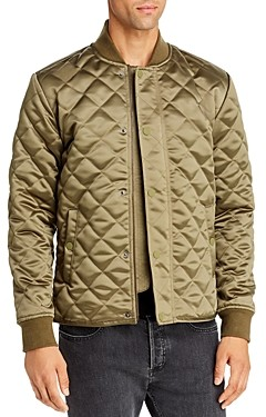Joe's Jeans Quilted Satin Bomber Jacket