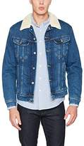 Lee Men's Sherpa Rider Denim Jacket