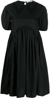 Cecilie Bahnsen Puff-Sleeve Flared Dress