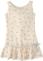 Appaman Flounce Dress (Toddler/Kid) - Birds-5