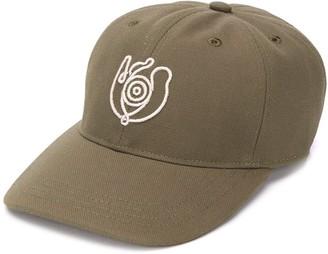 Loewe Eye-embroidered baseball cap