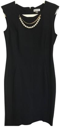 Calvin Klein Blue Cotton - elasthane Dress for Women