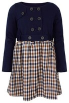 Aquascutum London Navy and Check Dress