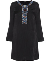 Etro Embellished Jacquard Dress