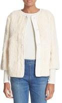 Elizabeth and James Women's Gloria Genuine Rabbit Fur Jacket