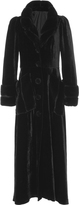 Anna Sui Velvet Frock Coat