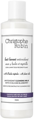 Christophe Robin Antioxidant Cleansing Milk with 4 Oils & Blueberry