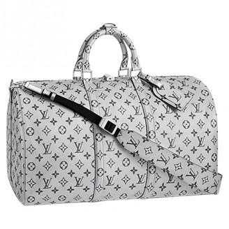 Louis Vuitton Silver Cloth Bags