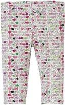 Fendi Logo Print Leggings (Baby) - Pink-24 Months