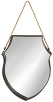 Shield Mirror with Hanger