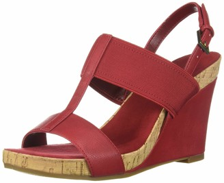 Aerosoles Women's Plush Behind Wedge Sandal