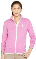 Ralph Lauren Full-Zip Mockneck Sweater