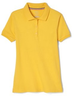 French Toast Girls Plus School Uniform Short Sleeve Stretch Pique Polo Shirt, Sizes 12-20