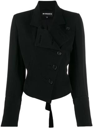 Ann Demeulemeester Asymmetric Buttoned Jacket