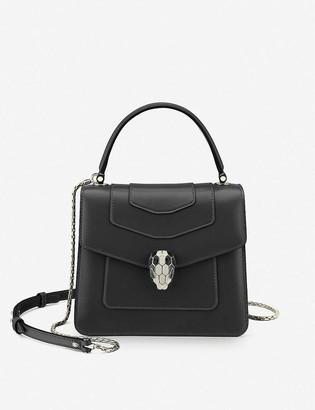 Bvlgari Serpenti Forever leather cross-body bag