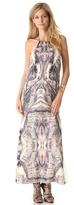 Haute Hippie Freebird Halter Gown