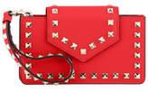 Valentino Rockstud Leather Flap Phone Case