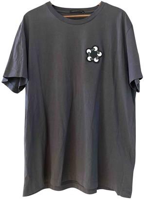 Christopher Kane Grey Cotton T-shirts