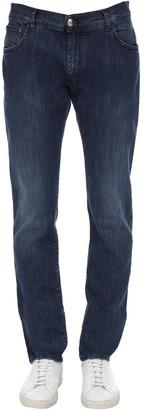 Billionaire Baroque Cotton Denim Jeans
