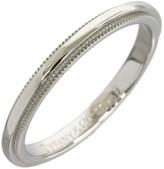 Tiffany & Co. Platinum Milgrain Wedding Band Size 4.75 Ring