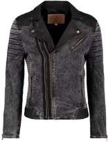 Goosecraft Leather jacket black