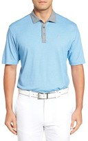 Travis Mathew Men's Knock Slim Fit Wrinkle-Resistant Polo