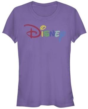 Fifth Sun Women's Disney Logo Multicolor Disney Short Sleeve T-shirt