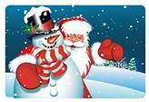 Snowman Doormat Merry Christmas Cute Snowman Custom Doormat Entrance Mat Floor Mat Rug Indoor/Outdoor/Front Door/Bathroom Mats Rubber Non Slip Size 23.6 x 15.7 inches