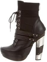 Rodarte Lace-Up Ankle Boots
