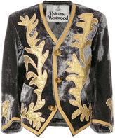 Vivienne Westwood cropped patterned jacket