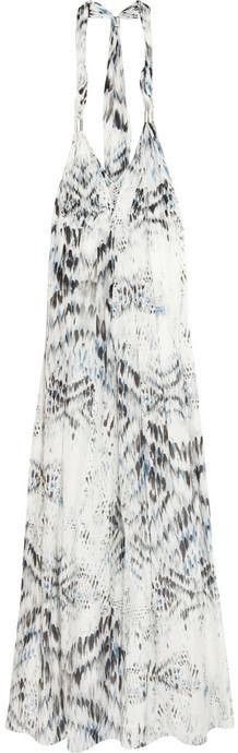 Heidi Klein Ipanema cotton and silk-blend maxi dress