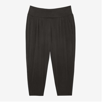 Joe Fresh Women+ Harem Pants, JF Black (Size 2X)