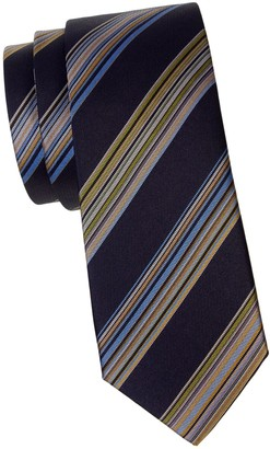 Missoni Thick Stripe Silk Tie