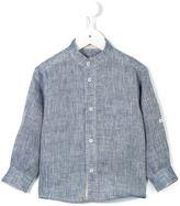 Cashmirino - Chest pocket shirt - kids - Linen/Flax - 2 yrs