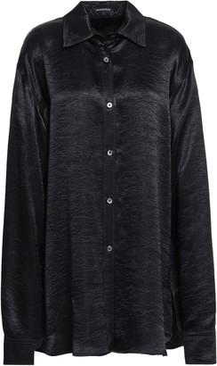 Ann Demeulemeester Crinkled-satin Shirt