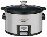 Cuisinart 3.5 Qt. Programmable Slow Cooker -Stainless Steel Psc-350