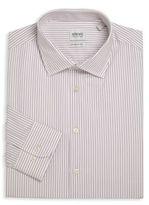 Armani Collezioni Modern-Fit Striped Dress Shirt