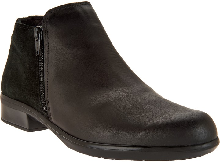 Naot Footwear Leather Ankle Boots - Helm