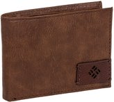 Columbia Men's Catherine Creek RFID Extra Capacity Slimfold Wallet