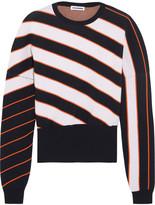 Jil Sander Striped knitted sweater