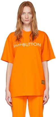 pushBUTTON Orange Logo T-Shirt